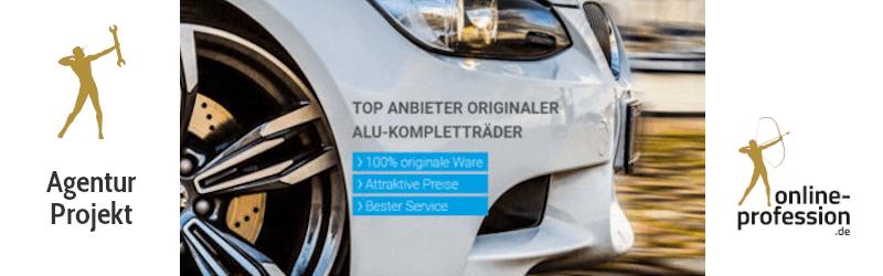 Relaunch des Internetauftritts von Premiumwheels: User Experience auf Hochglanz poliert