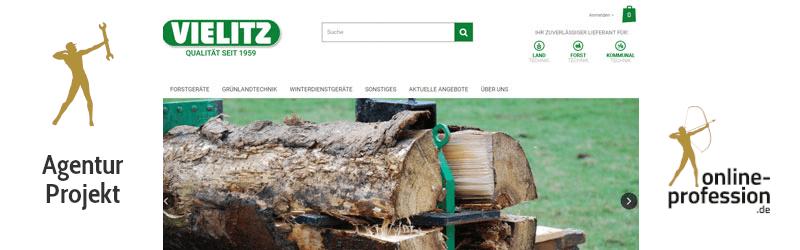 Relaunch des Internetauftritts der Vielitz GmbH: Tradition trifft Moderne