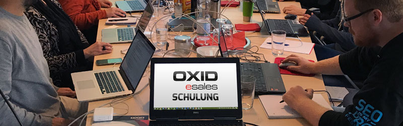 Oxid Schulung im Hause SEO-Profession