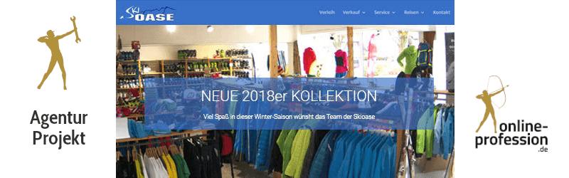 Relaunch des Internetauftritts der Skioase Münster: Gut beraten auf die Piste