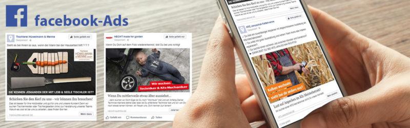 Facebook Ads: Werbung, dort wo die Zielgruppe ist