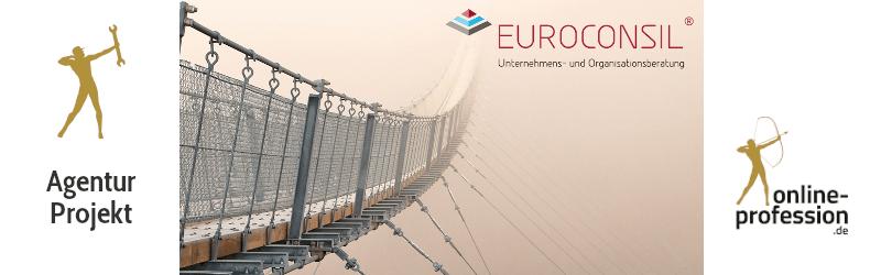 Relaunch für Euroconsil: Der Partner für die wichtigen Entscheidungen