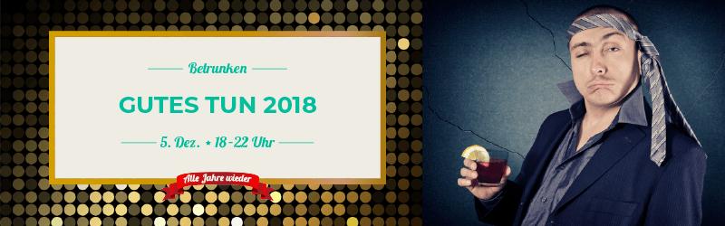 Die SEO-Weihnachts-Charity: Betrunken Gutes Tun 2018
