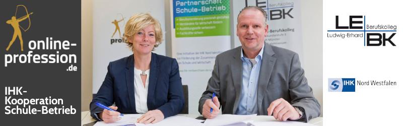 Partnerschaft Schule-Betrieb: Online-Profession engagiert sich mit am LEBK Münster