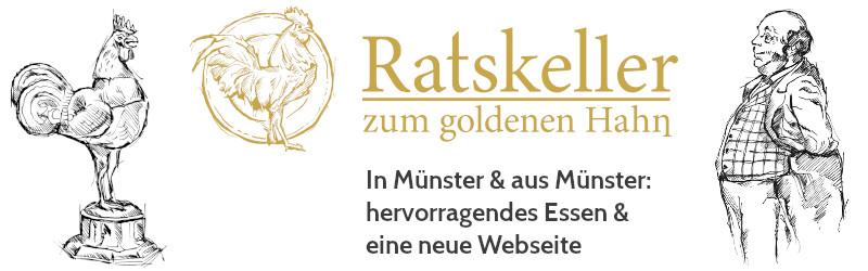 Eine neue Webseite für ein neues altes Restaurant: Der Ratskeller Münster