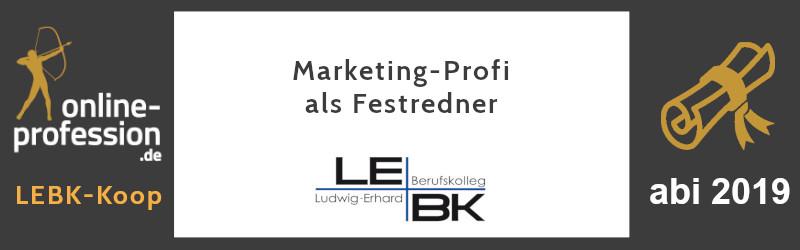 Marketing-Profi als Festredner: Martin Witte bei Abi-Verabschiedung