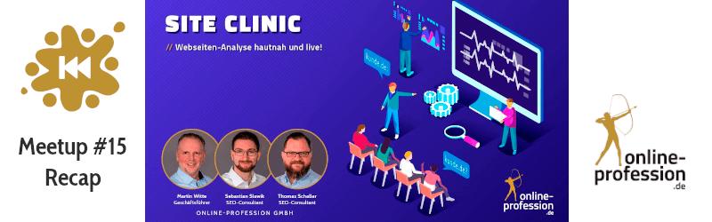 16. Münster-Online-Marketing-Meetup: Site-Clinic