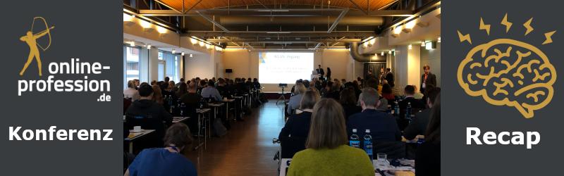 Online-Profession bei der BLOO:CON Konferenz 2020 in Münster