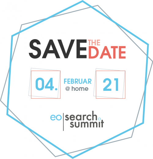 Safe the Date eoSearchSummit 2021