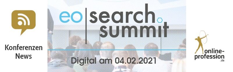 eoSearchSummit: 2020 in Würzburg, 2021 digital