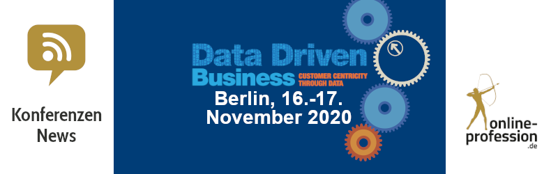 Data Driven Business – Doppel-Konferenz zu Data-Analytics & A.I. in Berlin